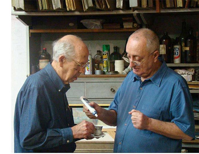 Carnelosso e Francisco Damico